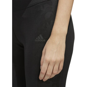 adidas Own The Run Spodnie 3/4 Kobiety, black